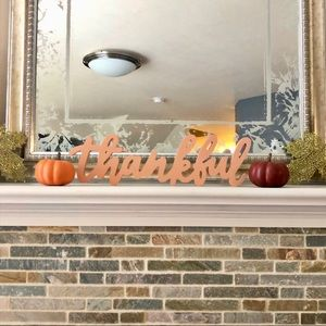 Other - Fall Home Decor 3 Piece Bundle